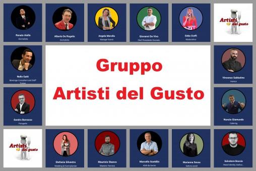 GRUPPO ARTISTI DEL GUSTO - IL TEAM